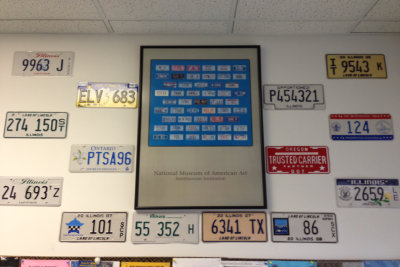 plate numbers